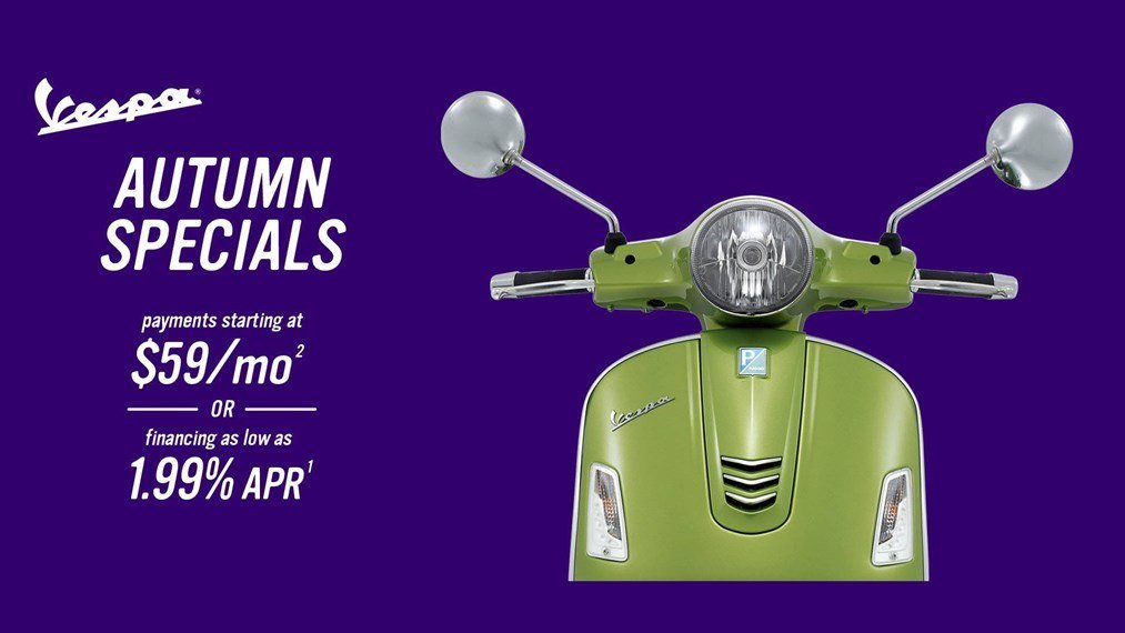 Vespa - Autumn Specials