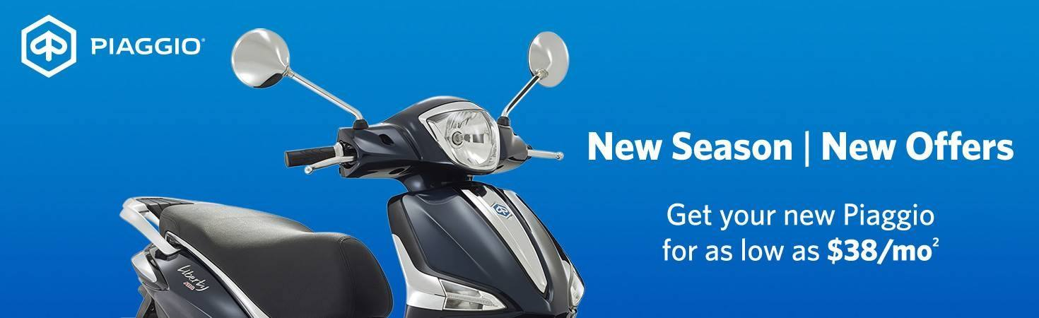 Piaggio - New Season New Offers