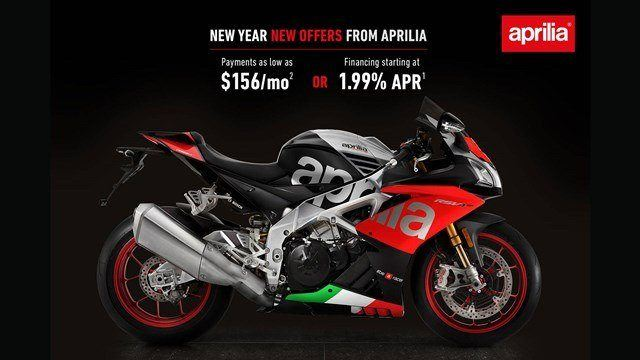 Aprilia - New Year New Offers